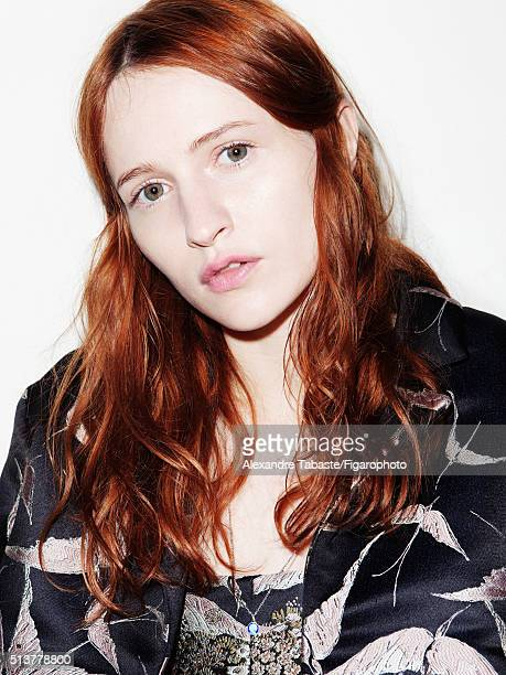 Actress Christa Theret is photographed for Madame Figaro on December 18 2015 in Paris France Coat and top PUBLISHED IMAGE CREDIT MUST READ Alexandre...