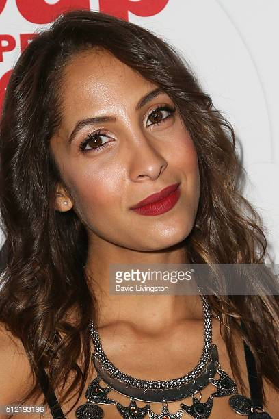 Actress Christel Khalil arrives at the 40th Anniversary of the Soap Opera Digest at The Argyle on February 24 2016 in Hollywood California