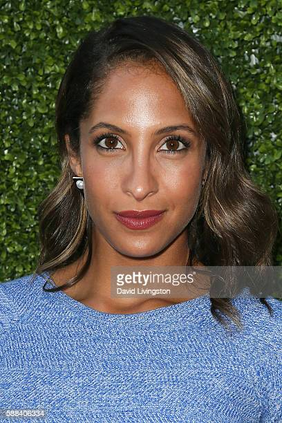 Actress Christel Khalil arrives at the CBS CW Showtime Summer TCA Party at the Pacific Design Center on August 10 2016 in West Hollywood California