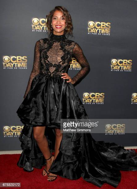 Actress Christel Khalil attends the CBS Daytime Emmy after party at Pasadena Civic Auditorium on April 30 2017 in Pasadena California