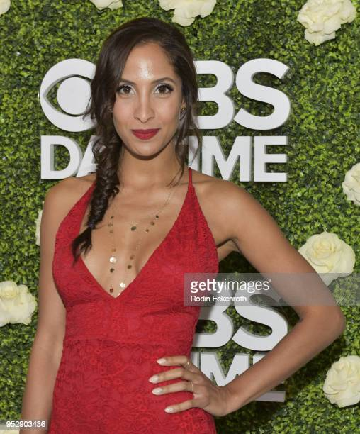 Actress Christel Khalil attends the CBS Daytime Emmy After Party at Pasadena Convention Center on April 29 2018 in Pasadena California