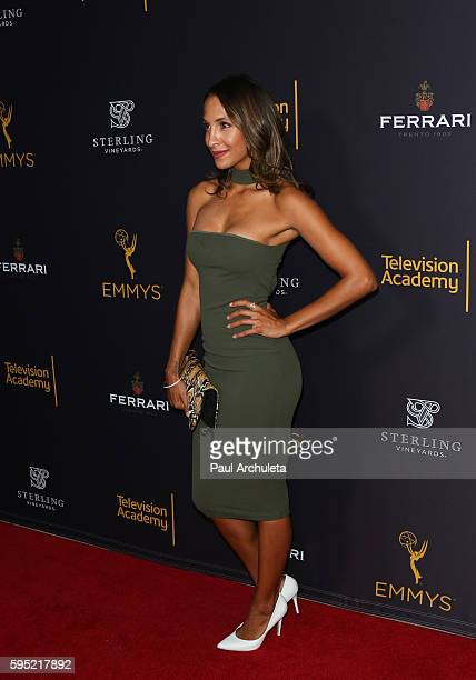 Actress Christel Khalil attends the Television Academy's daytime television celebration at The Saban Media Center on August 24 2016 in North...