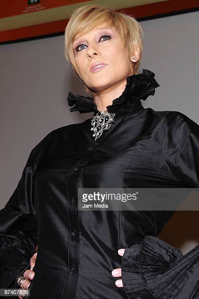 Actress Christian Bach attends the presentation of the soap opera Vidas Robadas at Camino Real Pedregal Hotel on March 3 2010 in Mexico City Mexico