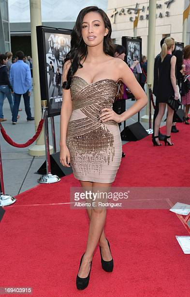 Actress Christian Serratos attends a special screening of Summit Entertainment's Now You See Me at the ArcLight Theaters Hollywood on May 23 2013 in...