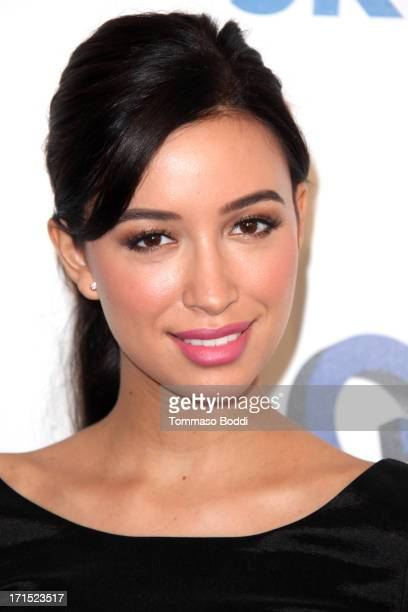 Actress Christian Serratos attends the 4th annual Thirst Gala held at The Beverly Hilton Hotel on June 25 2013 in Beverly Hills California