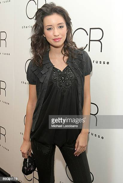 Actress Christian Serratos attends the Charlotte Russe Fall 2009 launch event at Openhouse Gallery on July 15 2009 in New York City