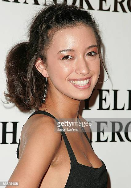 Actress Christian Serratos attends the premiere of The Yellow Handkerchief at The WGA Theater on November 25 2008 in Beverly Hills California