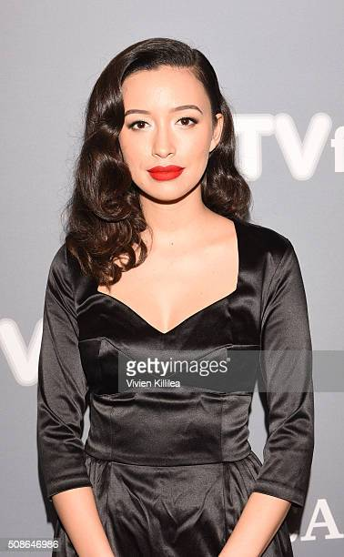 Actress Christian Serratos attends The Walking Dead event during aTVfest 2016 presented by SCAD on February 5 2016 in Atlanta Georgia