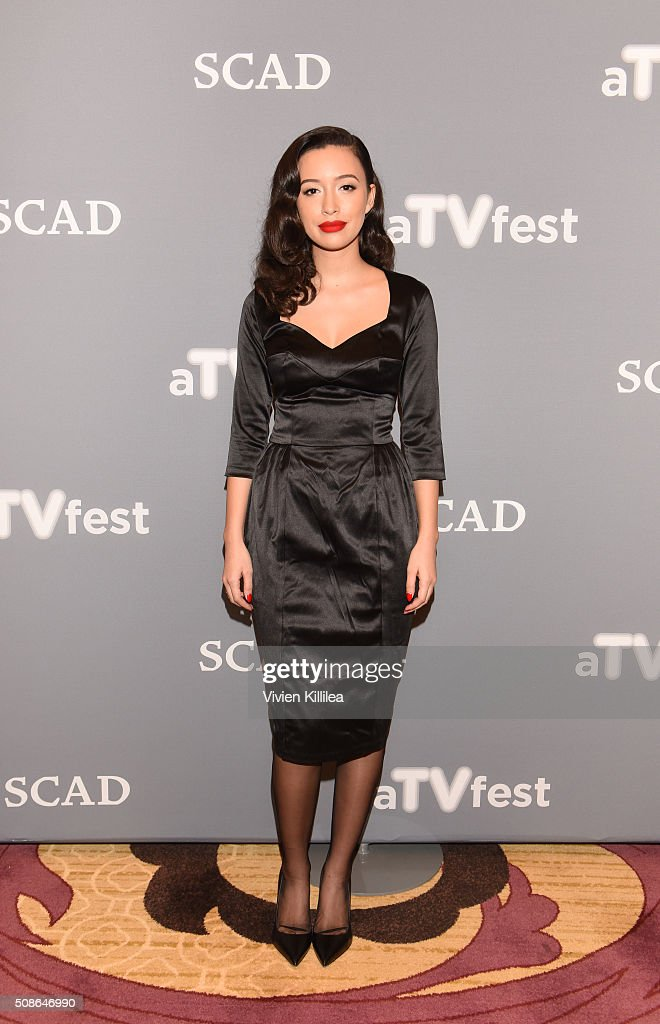 Actress Christian Serratos attends 'The Walking Dead' event during aTVfest 2016 presented by SCAD on February 5, 2016 in Atlanta, Georgia.