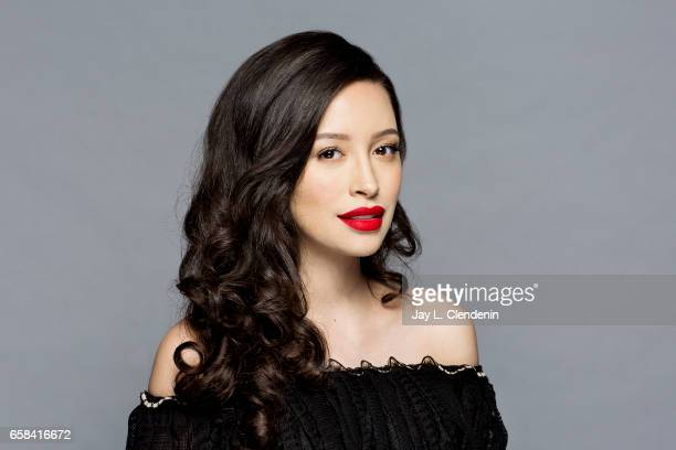 Actress Christian Serratos from AMC's 'The Walking Dead is photographed during Paley Fest for Los Angeles Times on March 17 2017 in Los Angeles...