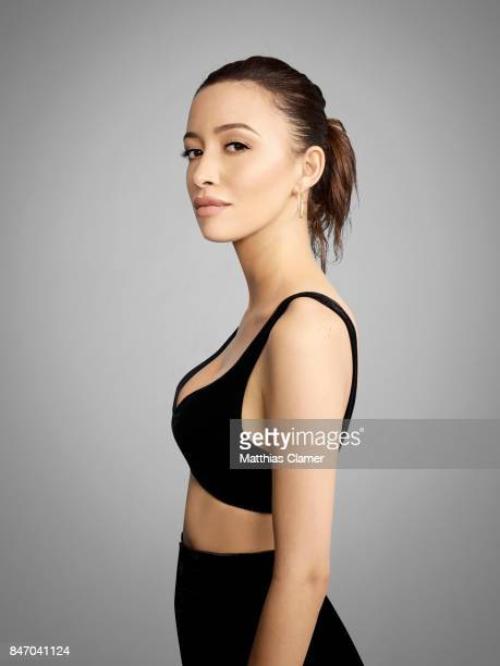 Actress Christian Serratos from 'The Walking Dead' is photographed for Entertainment Weekly Magazine on July 23 2016 at Comic Con in the Hard Rock...