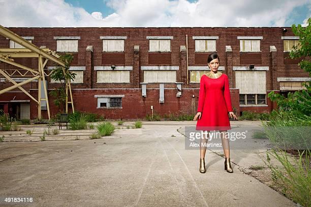 Actress Christian Serratos is photographed for Atlanta Magazine on July 25, 2015 in Atlanta, Georgia. PUBLISHED IMAGE.