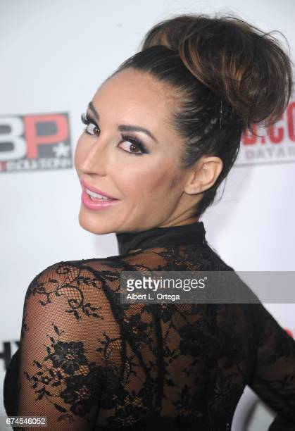 Actress Christiana Cinn arrives for the 33rd Annual XRCO Awards Show held at OHM Nightclub on April 27 2017 in Hollywood California