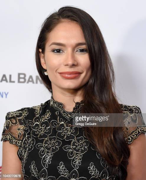 Actress Christiana Leucas arrives at the 18th Annual Voices Of Our Children Fundraiser Gala And Awards at Lowes Hollywood Hotel on September 29 2018...