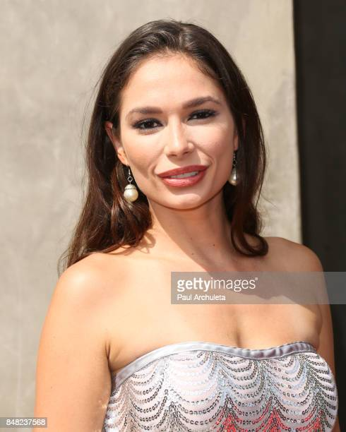 Actress Christiana Leucas attends the Television Industry Advocacy Awards at TAO Hollywood on September 16 2017 in Los Angeles California