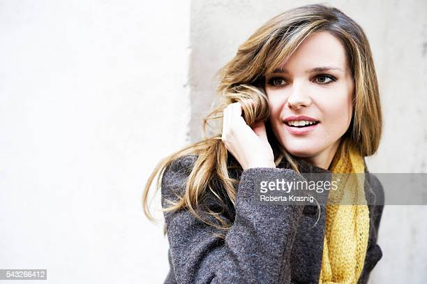 Actress Christiane Filangeri is photographed for Self Assignment on November 15 2011 in Rome Italy