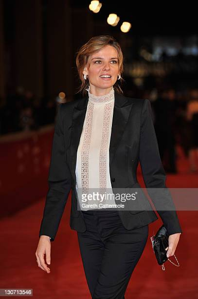 Actress Christiane Filangieri attends the Hysteria Premiere during the 6th International Rome Film Festival on October 28 2011 in Rome Italy