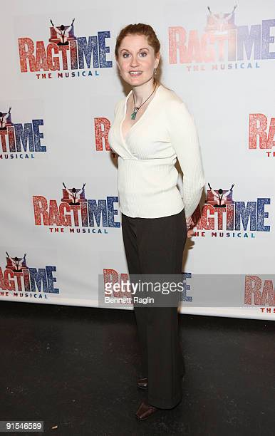 Actress Christiane Noll attends rehearsals for the Broadway revival of Ragtime at the Hilton Theatre Rehearsal Hall on October 7 2009 in New York City