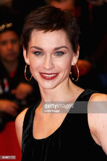 Actress Christiane Paul attends the premiere for 'The International' as part of the 59th Berlin Film Festival at the Berlinale Palast on February 5,...