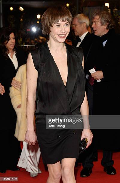 Actress Christiane Paul attends the 'Tuan Yuan' Premiere during day one of the 60th Berlin International Film Festival at the Berlinale Palast on...