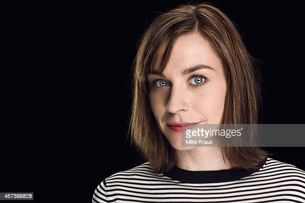 Actress Christiane Paul is photographed for Self Assignment on July 1, 2014 in Munich, France.