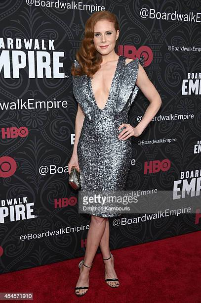 Actress Christiane Seidel attends HBO's 'Boardwalk Empire' Season Five New York Premiere at Ziegfeld Theatre on September 3 2014 in New York City