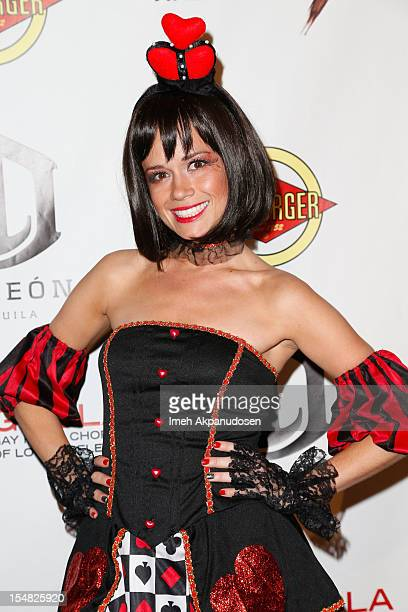 Actress Christie Burson attends Fred Jason's Annual Halloweenie Celebrity Charity Event on October 26 2012 in Los Angeles California