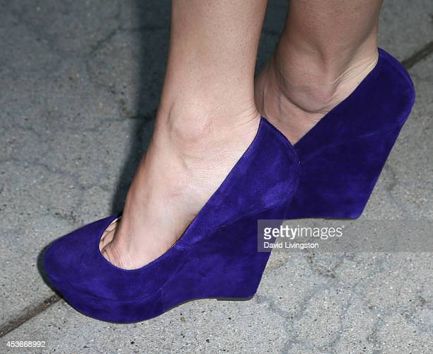 Actress Christie Burson attends the premiere of Fort McCoy at Laemmle's Music Hall 3 on August 15 2014 in Beverly Hills California