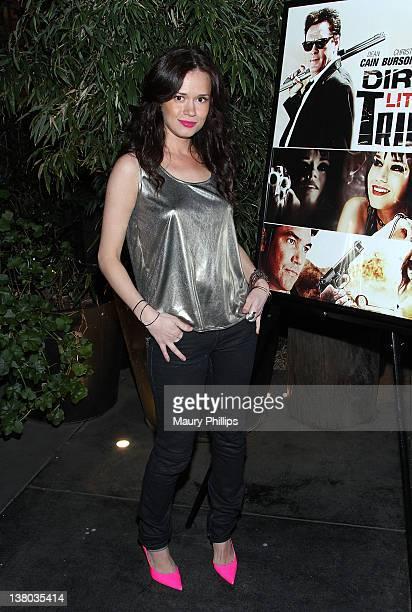 Actress Christie Burson attends the Ronalds Brothers Dirty Little Trick DVD Release Happy Hour at Station Hollywood at W Hollywood Hotel on January...
