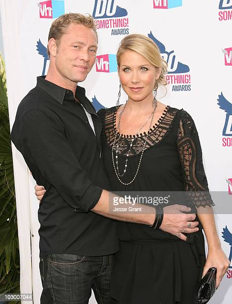 Actress Christina Applegate and guest arrive at the 2010 VH1 Do Something! Awards held at the Hollywood Palladium on July 19, 2010 in Hollywood,...