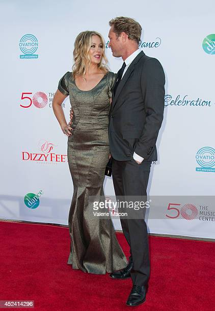 Actress Christina Applegate and husband Martyn LeNoble arrives at the 4th Annual Celebration Of Dance Gala Presented By The Dizzy Feet Foundation at...
