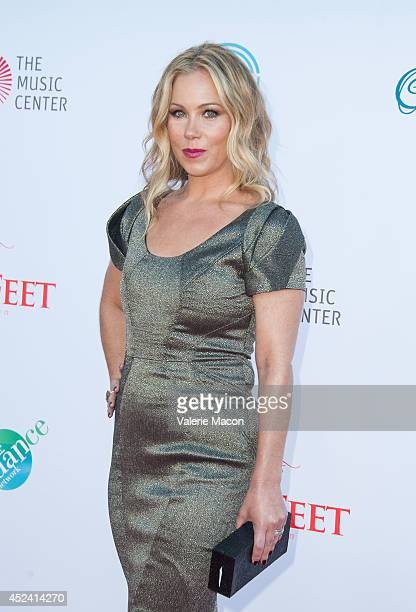 Actress Christina Applegate arrives at the 4th Annual Celebration Of Dance Gala Presented By The Dizzy Feet Foundation at Dorothy Chandler Pavilion...