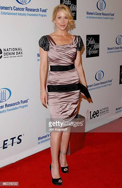 """Actress Christina Applegate arrives to the EIF's Women's Cancer Research Fund Hosts """"An Unforgettable Evening Benefit at the Beverly Wilshire Four..."""