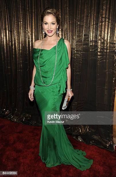 Actress Christina Applegate arrives to the TNT/TBS broadcast of the 15th Annual Screen Actors Guild Awards at the Shrine Auditorium on January 25...