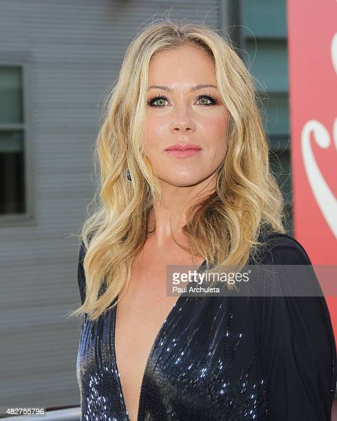 Actress Christina Applegate attends Dizzy Feet Foundation's 5th Annual Celebration Dance Gala at Microsoft Theater on August 1 2015 in Los Angeles...