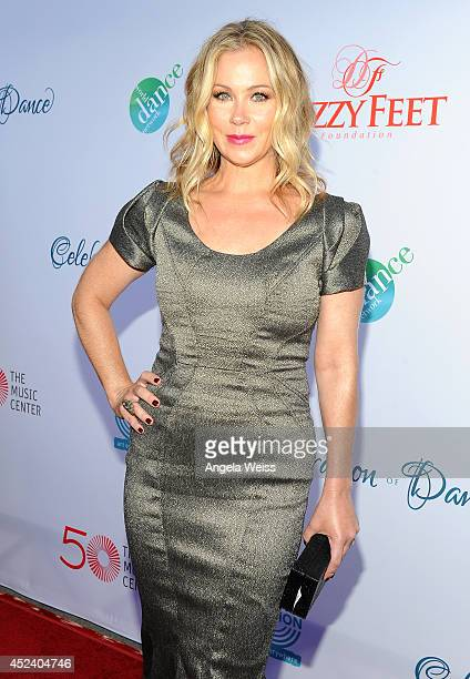 Actress Christina Applegate attends Dizzy Feet Foundation's Celebration Of Dance Gala at The Music Center on July 19 2014 in Los Angeles California