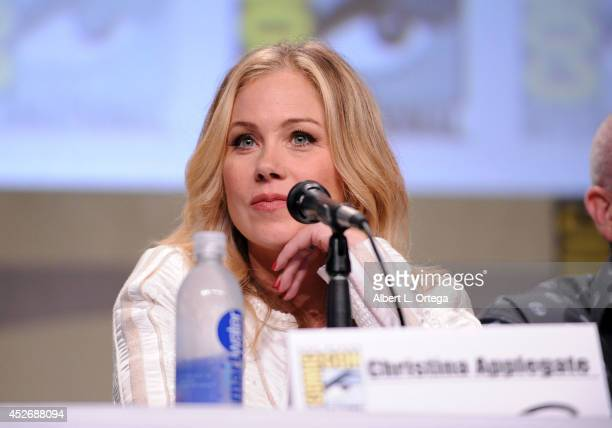 Actress Christina Applegate attends the 20th Century Fox presentation during ComicCon International 2014 at San Diego Convention Center on July 25...