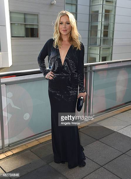 Actress Christina Applegate attends the 5th Annual Celebration of Dance Gala presented By The Dizzy Feet Foundation at Club Nokia on August 1 2015 in...
