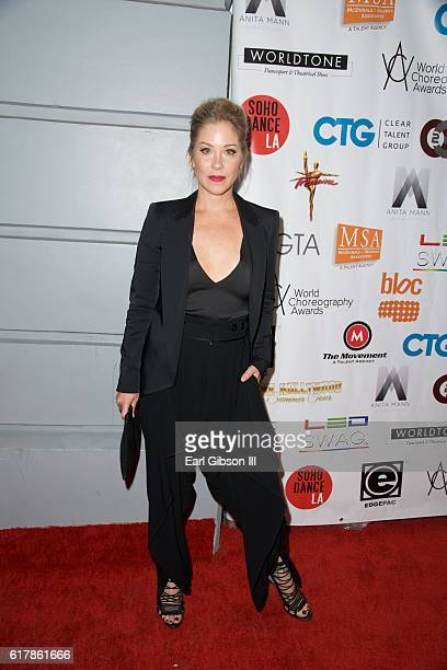 Actress Christina Applegate attends the 6th Annual Choreography Awards at The Ricardo Montalban Theatre on October 24 2016 in Hollywood California