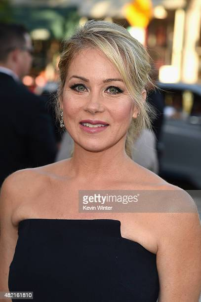 Actress Christina Applegate attends the premiere of Warner Bros Pictures Vacation at Regency Village Theatre on July 27 2015 in Westwood California