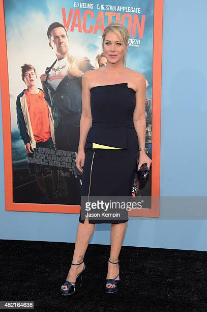 Actress Christina Applegate attends the premiere of Warner Bros 'Vacation' at Regency Village Theatre on July 27 2015 in Westwood California