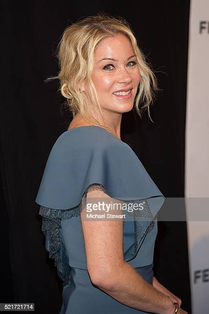 Actress Christina Applegate attends the Youth In Oregon premiere during 2016 Tribeca Film Festival at John Zuccotti Theater at BMCC Tribeca...