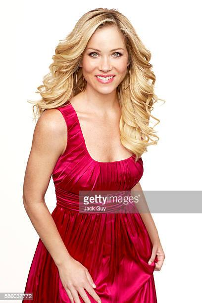 Actress Christina Applegate is photographed for Redbook Magazine in 2007 in Los Angeles California COVER IMAGE