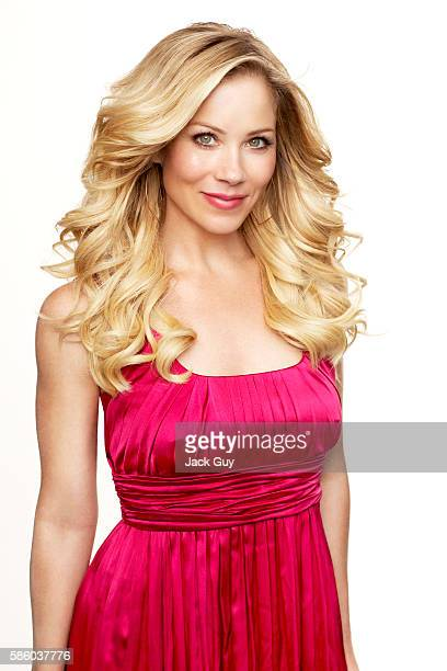 Actress Christina Applegate is photographed for Redbook Magazine in 2007 in Los Angeles California PUBLISHED IMAGE