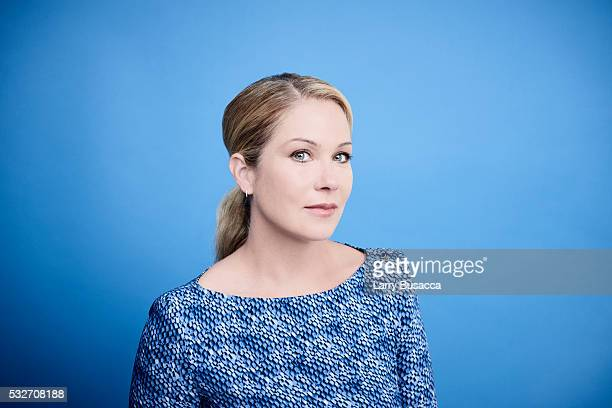 Actress Christina Applegate poses for a portrait at the Tribeca Film Festival on April 18 2016 in New York City