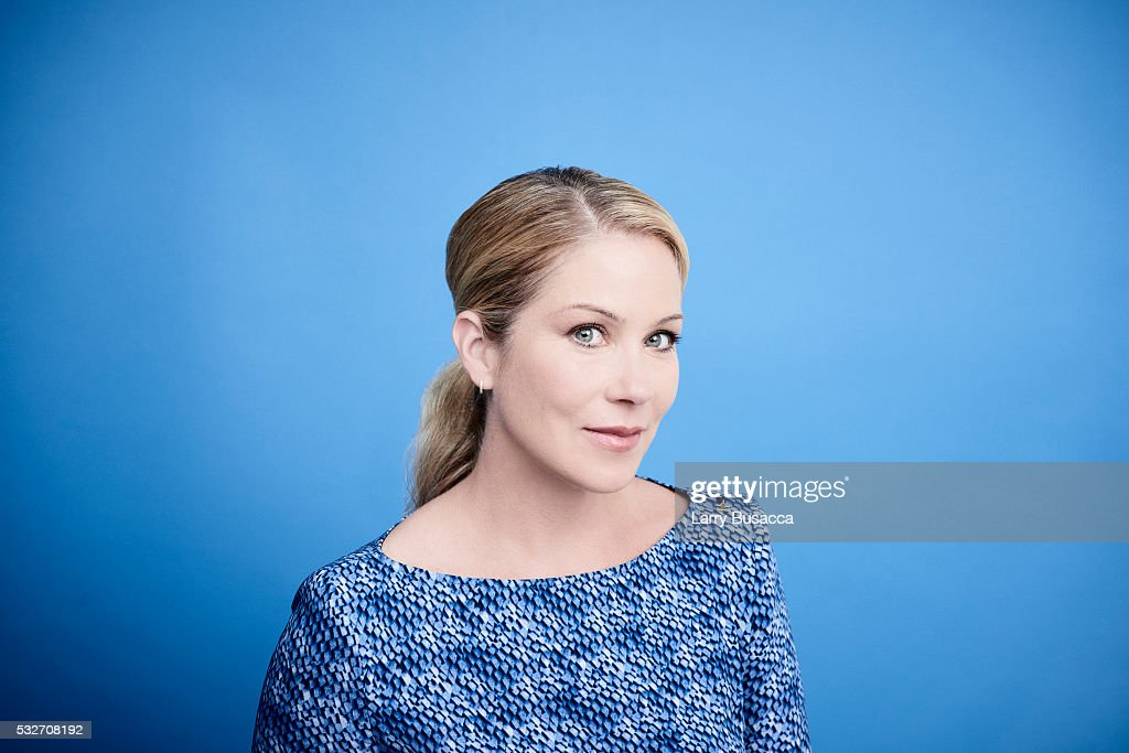 Christina Applegate, 2016 Tribeca Portrait Studio, April 18, 2016 : News Photo