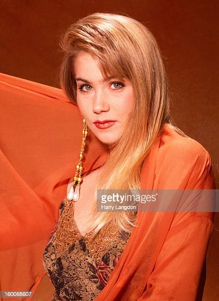 Actress Christina Applegate poses for a portrait in 1993 in Los Angeles California