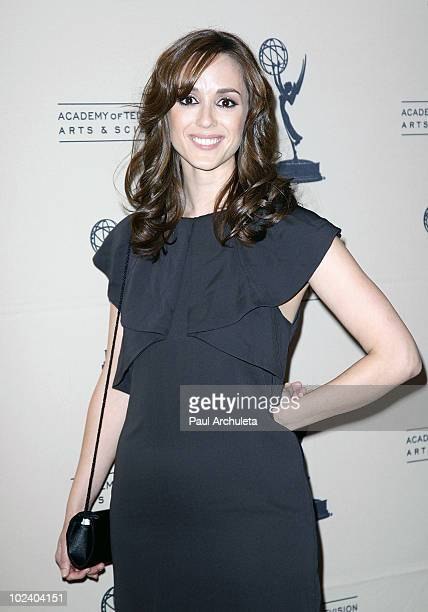 Actress Christina Bennett Lind arrives at the 2010 Daytime Emmy Awards nominees cocktail reception at SLS Hotel at Beverly Hills on June 24 2010 in...