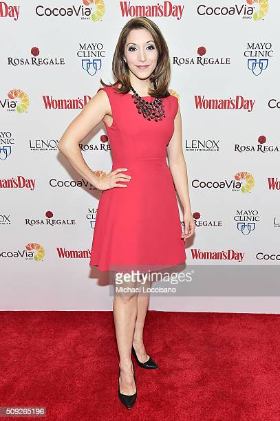 Actress Christina Bianco attends the 2016 Woman's Day Red Dress Awards on February 9 2016 in New York City