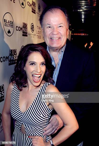 Actress Christina DeRosa and actor Dennis Haskins attend 'The Lost Tree' screening at TCL Chinese 6 Theatres on October 9 2017 in Hollywood California